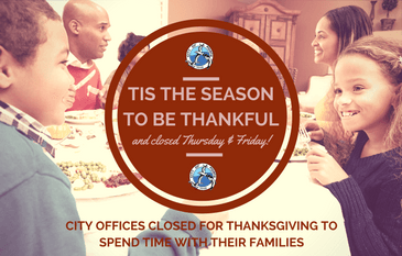 Newsflash_Thanksgiving Offices Closed