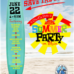 Summer Party Save the Date