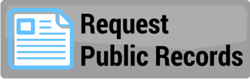 Public Record Request Portal Button