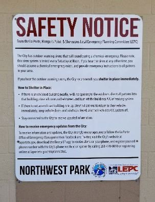 LEPC Safety Notice
